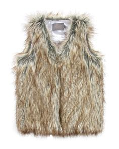 Creamie Faux Fur Vest Eileena, Creamie Girl's Clothes, Creamie Clothing Fall Winter at Moncouturier Black Fur Vest, Faux Fur Vests, Fur Vest Outfits, Girls Winter Fashion, Fall Winter Outfits, Fur Coat, Child, Clothes, Boots