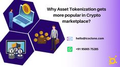 Why Asset tokenization gets more popular in the crypto marketplace??? Check out this guide and learn more... #cryptocurrency #cryptotrading #assettoken #tokenizedassets #assettokenization #assettokenizationplatform #tokenization #tokenizationblockchain #marketplace #crypto Security Token, Crypto Market, Blockchain, Cryptocurrency, Platform, Popular, Learning, Business, Startups