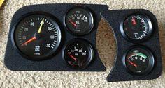 VDO gauges for the dash