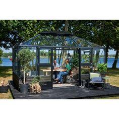 Juliana Grand Oase 13,0m2 |Modulsokkel Conservatory Extension, Sunroom, Green, Instagram, Sunrooms, Winter Garden, Solarium Room