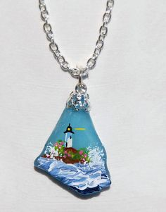 Sea Glass & Rock Necklaces // sweet sherryann