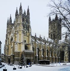 Canterbury Cathedral, Canterbury, England  #World heritage