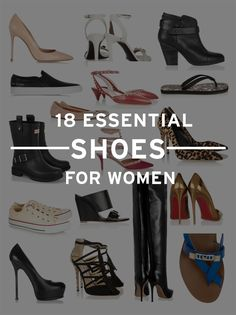 18 Essential Shoes That Every Woman Should Own