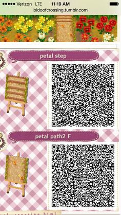 animal crossing dirt path qr codes - Google Search