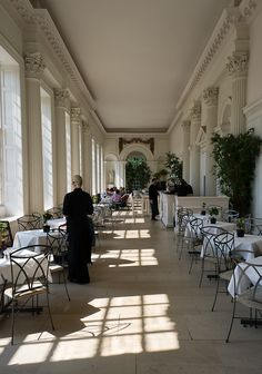 ORANGERIE • Kensington Palace, London, ENGLAND • British menu • One of the most elegant restaurants in London with a terrace for fine days and views of the palace and its gardens, Breakfast, lunch and tea only • 020 3166 6113 • http://www.hrp.org.uk/KensingtonPalace/Foodanddrink/Orangery