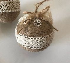 Set of 5 Twine Ornaments for Rustic Christmas Decor Country Country Christmas Decoration Housewarming Gift Star Ornament Farmhouse Xmas Decor - Set of 5 twine ornaments for rustic Christmas decor Etsy - Rustic Christmas Ornaments, Country Christmas Decorations, Farmhouse Christmas Decor, Christmas Diy, Country Christmas Ornaments, Christmas Swags, Homemade Christmas Tree Decorations, Outdoor Decorations, Outdoor Christmas