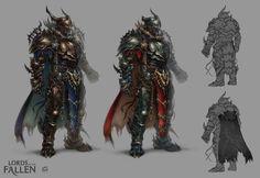 set of living legend // set of lords;   Lords of the Fallen (c) CI Games + Deck13 artwork by Magdalena Pągowska (len-yan)