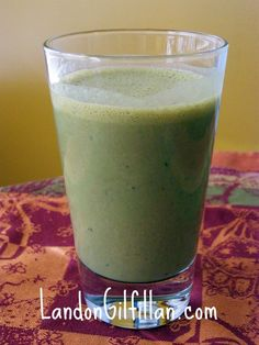 Green Smoothies For Everyone - a power-packed way to get all kinds of healthy goodness into your system first thing in the morning