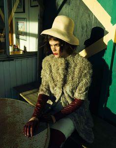 Lucie von Alten by Nikolay Biryukov in End of a Season for Fashion Gone Rogue