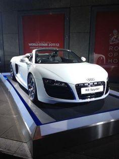 The new Audi R8 Spyder