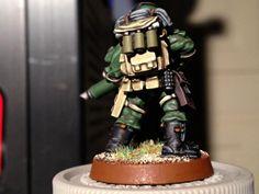 Astra Militarum, Imperial Guard, Storm Troopers, Tempestus Militarum, Warhammer 40,000
