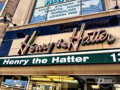Henry The Hatter, founded in Detroit in 1893. PUREDETROIT.com