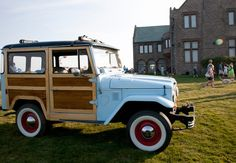 Early Toyota Landcruiser Woodie recent build.