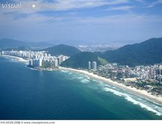 Santos City of Brazil