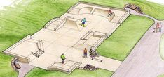 Dahl Playfield skatepark, Seattle WA