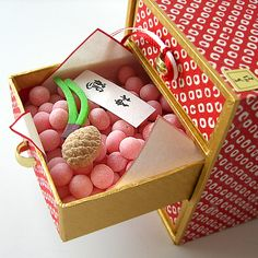塩芳軒(しおよしけん)有平糖・落雁・干菓子「千代たんす」