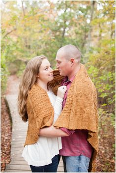 Fall Blanket, First Landing State Park, Virginia Beach Engagement Photography, Angie McPherson Photography