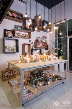 Diseño de Interiores por Mar García by Piropo para VJ Floral Design en Cancún, Mx.