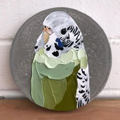 Bird Paintings, Bird Artwork, Animal Paintings, Birds 2, Bird Pictures, Budgies, Art Studies, Wildlife Art, Texture Art