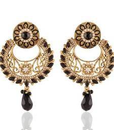 Buy Gracefull Gold Plated Jewellery Earrings For Women danglers-drop online