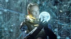 Michael Fassbender as the robot David in the Ridley Scott film Prometheus. Great film!