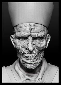 Evil Priest on Behance
