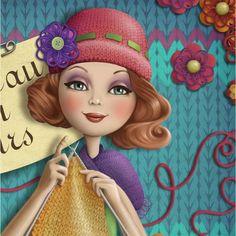 Ilustracion Nina de San