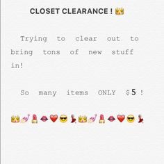 SALE!!!!!!!!!!!!!!! Clearing out! Trying to clear out for new items  Accessories
