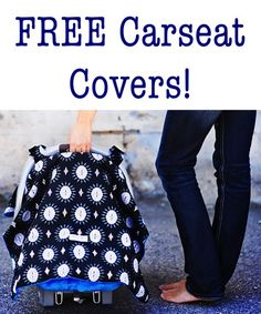 FREE Carseat Cover for Baby! {just pay s/h} ~ these make great baby shower gifts, too! #carseat #covers