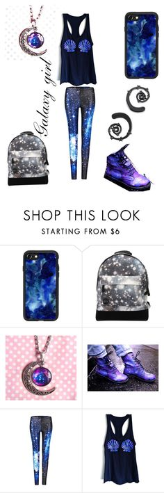 """""""Galaxy 🌌 girl"""" by emogaykitten ❤ liked on Polyvore featuring Casetify and Mi-Pac"""