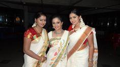 Meera Muralidharan in Kerala traditional Saree