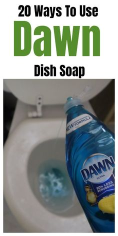 20 Ways To Use Dawn Dish Soap Dawn dish soap household and cleaning tips, tricks, and hacks. 20 Ways To Use Dawn Dish Soap Dawn dish soap household and cleaning tips, tricks, and hacks. Diy Home Cleaning, Bathroom Cleaning Hacks, Homemade Cleaning Products, Household Cleaning Tips, Deep Cleaning Tips, Cleaning Recipes, House Cleaning Tips, Natural Cleaning Products, Spring Cleaning