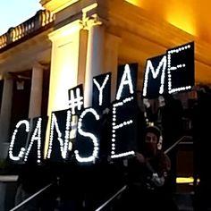 #YaMeCanse en Union Square