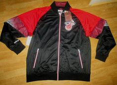 NWT Mitchell & Ness NBA Miami Heat Court Vision Jacket 2XL $145