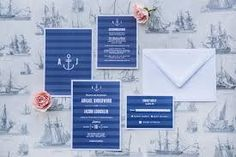 Image result for nautical invitation