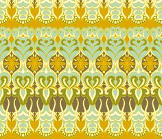 love this fabric...I can see doing a whole quilt with this as inspiration...sort of a row-by-row