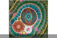 viagem ao centro da terra beatriz milhazes - coleção folha
