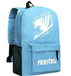 Fairy Tail Anime School Bookbag Backpack 2 Colors