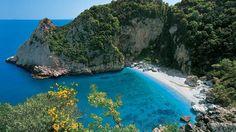 Fakistra Beach, Pelion, Greece - I wonder if it's always that empty.