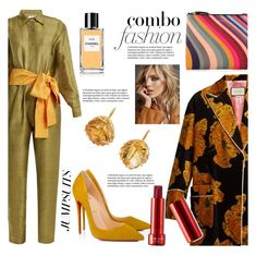 """""""One and Done: Jumpsuits"""" by pesanjsp ❤ liked on Polyvore featuring Rhode Resort, Christian Louboutin, Paul Smith, Renee Lewis, Gucci, Anja, Chanel and jumpsuits"""