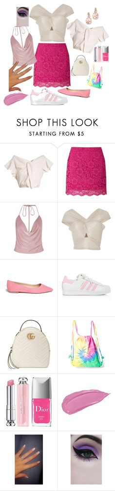 """Life is about creating yourself"" by tailormadejewelry ❤ liked on Polyvore featuring Rachel Comey, Miss Selfridge, Boohoo, Alice McCall, Sam Edelman, adidas, Gucci, Colortone, Christian Dior and Concrete Minerals"