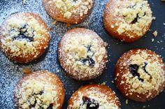 Moravské koláče Doughnut, Muffin, Food And Drink, Bread, Breakfast, Buns, Morning Coffee, Brot, Muffins