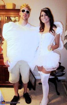 Tooth & Tooth Fairy - Halloween Costume Contest via @costume_works