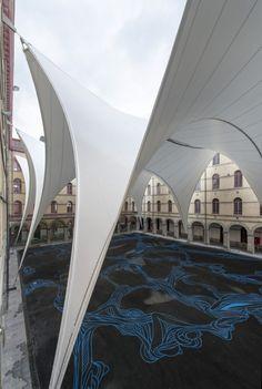 © Marie-Françoise Plissart Architects: AgwA, Ney & Partners Location: Rue des Soeurs Noires 4, 7000 Mons, Belgium Area: 3570.0 sqm Year: