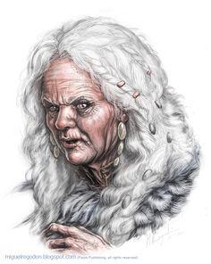 Vyrna. Orientadora de Ashar e Professora de ritualística de Casimyr. Foi a primeira aluna a entrar pelas portas de Casimyr, quando essa ainda era a AR.