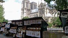 #NotreDame #cathedral #laSeine #Paris June 2014 www.pinterest.com/annbri/