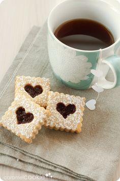 galletas linzer_caramel cookie