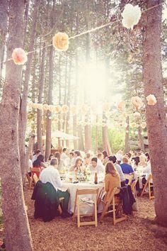 Outdoors Sierra Nevada Wedding - Rustic Wedding Chic
