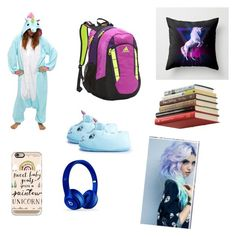 """""""Pajama Day at School"""" by kkhloe13 ❤ liked on Polyvore featuring Kigu, Boohoo, adidas, Umbra, Casetify and Beats by Dr. Dre"""