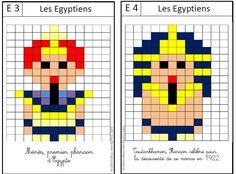 pixel moi Pixel Art Minecraft, Pix Art, Cycle 3, Math School, Bible Activities, Art Plastique, Mosaic Art, Ancient Egypt, Hama Beads